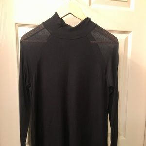 BCBGMaxAzria Ruri Long Sleeve Turtleneck Shirt
